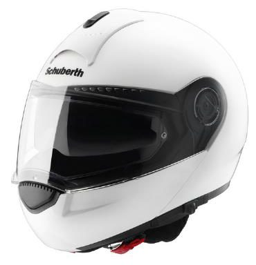 Schuberth C3 Basic Gloss White Helmet