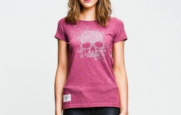 Red Topedo Ladies Meanbird T shirt