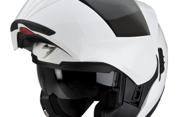 Scorpion EXO 910 White Open Helmet
