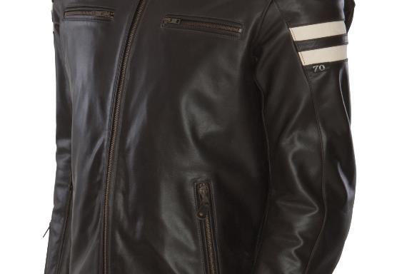 Segura Brown Retro Jacket CE APPROVED