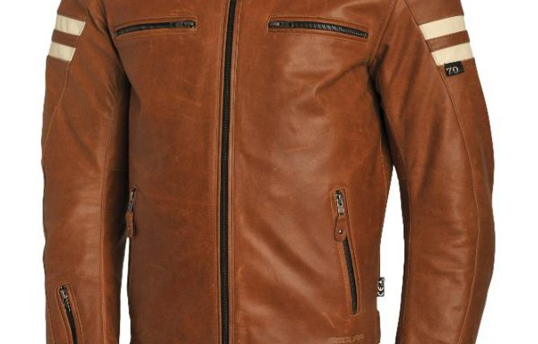 Segura Camel Retro Jacket CE APPROVED