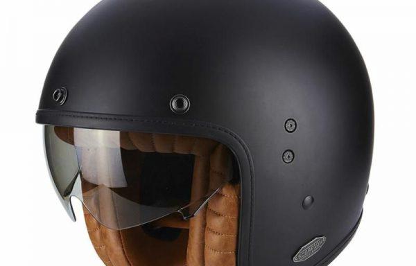 Exo Belfast Matt Black Helmet