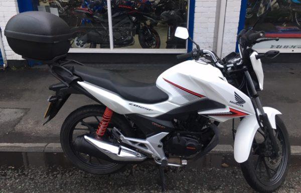 Honda CBF125 2016 12790 miles £1495