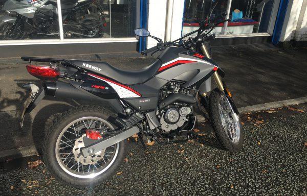 Keeway TX125cc 2020 1268km £SOLD