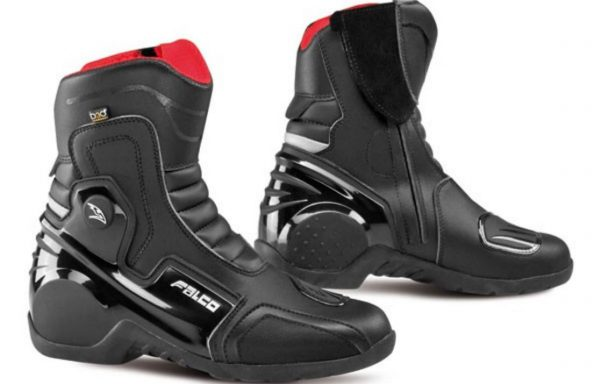 Falco Black Axis 2.1 Touring Boots CE Approved