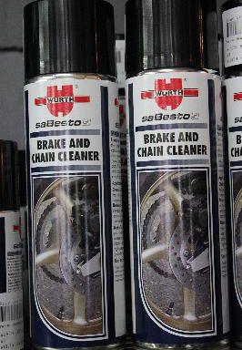 Wurth Brake and Chain Cleaner 500ml