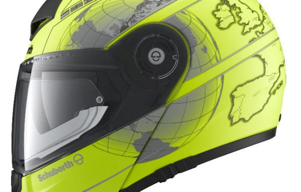 Schuberth C3 Pro Europe Matt Fluo Yellow