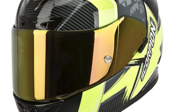 Scorpion Exo 710 Crystal Black / Neon Yellow