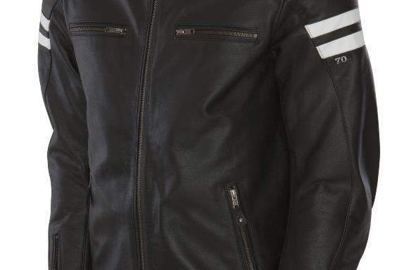 Segura Black Retro Jacket CE APPROVED