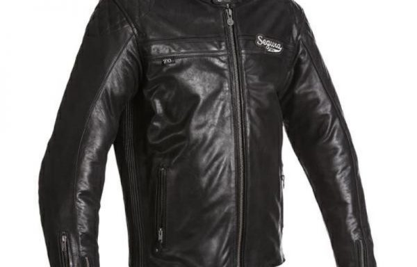 Segura Mens Style Jacket Black with Grey Hoody CE Approved